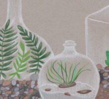 i moss say...  i'm lichen terrariums! Sticker