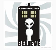I want to Believe by ToneCartoons