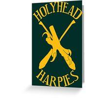 The Holyhead Harpies Greeting Card