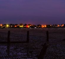 Leysdown at night by JEZ22