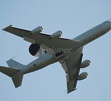 Boeing E-3 Sentry by justbmac