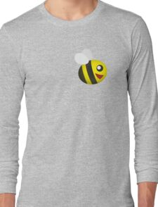 Cute Small Bee Long Sleeve T-Shirt