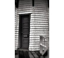 Light Keepers Door Photographic Print