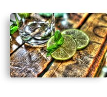 Mint and Lime Canvas Print