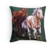 Bringing Home the Baby Throw Pillow