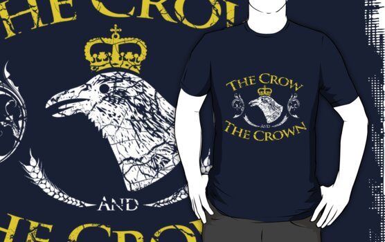 The Crow and The Crown by jabbtees