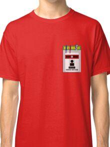 Chuck pocket protector Classic T-Shirt