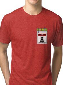Chuck pocket protector Tri-blend T-Shirt