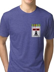 Chuck pocket protector Tri-blend T-Shirt
