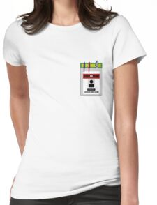 Chuck pocket protector Womens Fitted T-Shirt