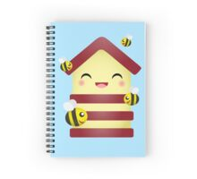 Bee House Spiral Notebook