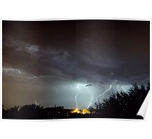 The Monsoon Storm After the Dust Storm I Poster