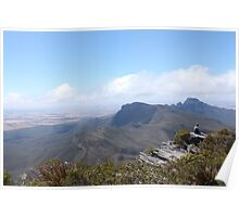 View from Bluff Knoll - Stirling Range - Western Australia Poster