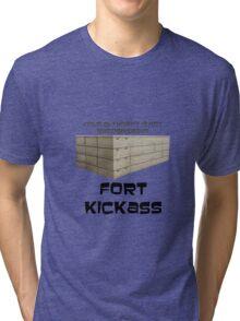 Fort Kickass - Archer Tri-blend T-Shirt