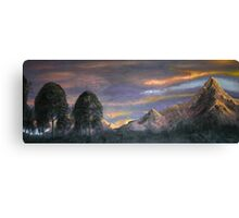 Peaks at Sunset Canvas Print
