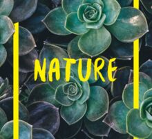 NATURE Sticker