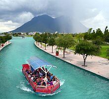 Santa Lucia Riverwalk by sketchpoet