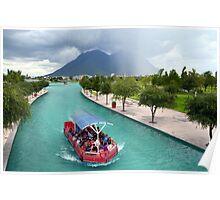 Santa Lucia Riverwalk Poster