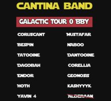 Cantina band concert t-shirt by icemanire