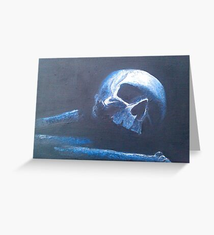 Muerte Greeting Card