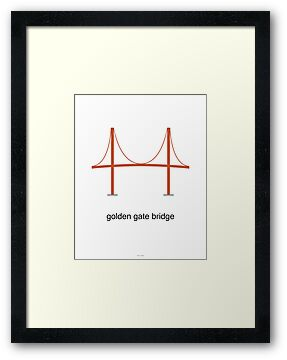 Golden Gate Bridge Print by Peter Fedewa