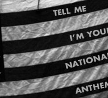 Lana Del Rey National Anthem Sticker