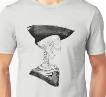 Halloween Skeleton Pirate! Digital Halloween Engraving. Unisex T-Shirt