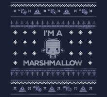 I'm A Marshmallow- Marshmallow shirts by Martint