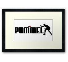 PUMMEL Framed Print