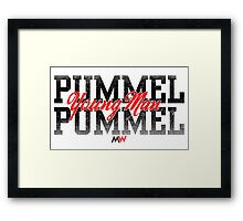 Pummel Young Man Pummel Framed Print