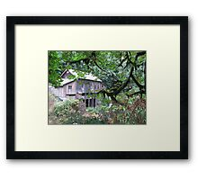 Just a Grist Mill Framed Print