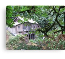 Just a Grist Mill Canvas Print