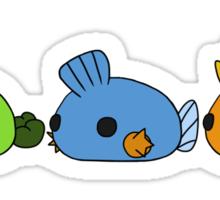 Chubby Generation Three Sticker