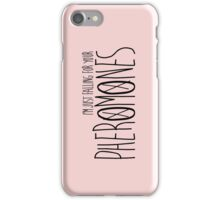Falling for your Pheromones iPhone Case/Skin
