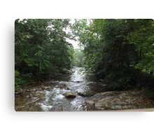 Rocky River Canvas Print