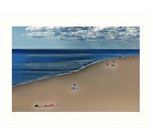beach chill Art Print