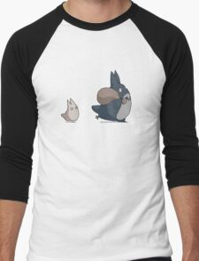 Totoro's friends Men's Baseball ¾ T-Shirt