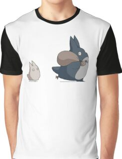 Totoro's friends Graphic T-Shirt