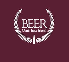 Beer. Man's Best Friend Unisex T-Shirt