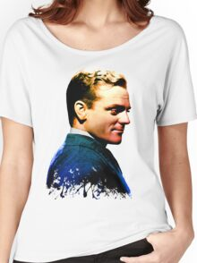 James Cagney, blue screen Women's Relaxed Fit T-Shirt