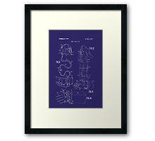 SPACESUIT 1 Framed Print
