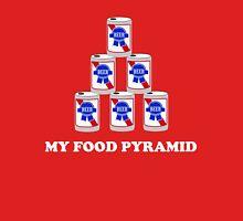 Beer. My Food Pyramid Unisex T-Shirt