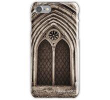 neo-gothic crypt iPhone Case/Skin