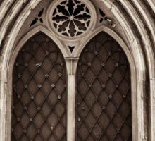 neo-gothic crypt Sticker
