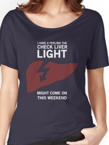 Check Liver Light Women's Relaxed Fit T-Shirt
