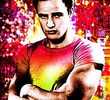 Marlon Brando, Color source 2 by sebmcnulty