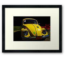 Anybody seen Herbie? Framed Print