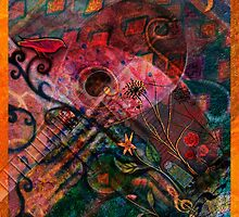 Troubadour Tapestry by Alison Gilbert