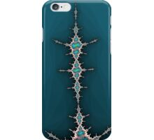 Fractal in Blue iPhone Case/Skin