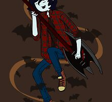 Marshall Lee the Vampire King by Elleon
